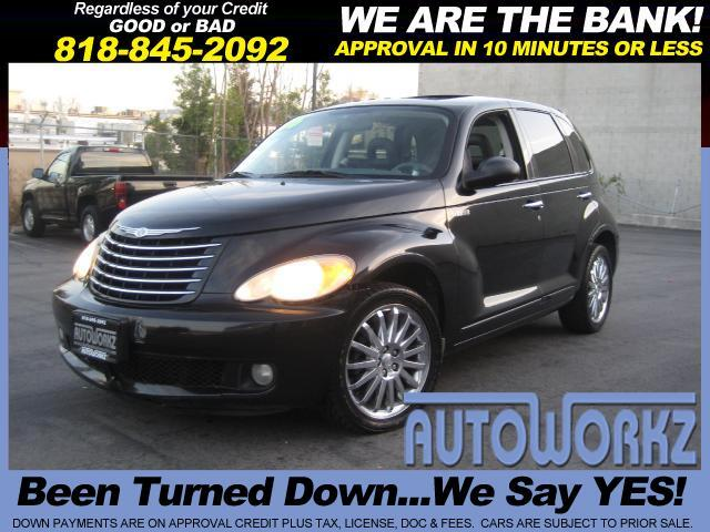 2006 Chrysler PT Cruiser WOW CHECK THIS ONE OUT BLACK ON GRAY LEATHER EXTRA CLEAN LOW MILES GT MODE