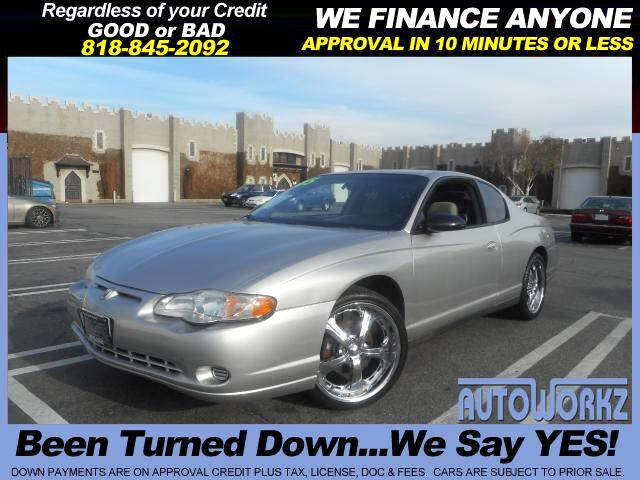 2005 Chevrolet Monte Carlo FULLY LOADED CHROME RIMS CD AC TOTALLY CUSTOM  WE FINANCE  Join our F