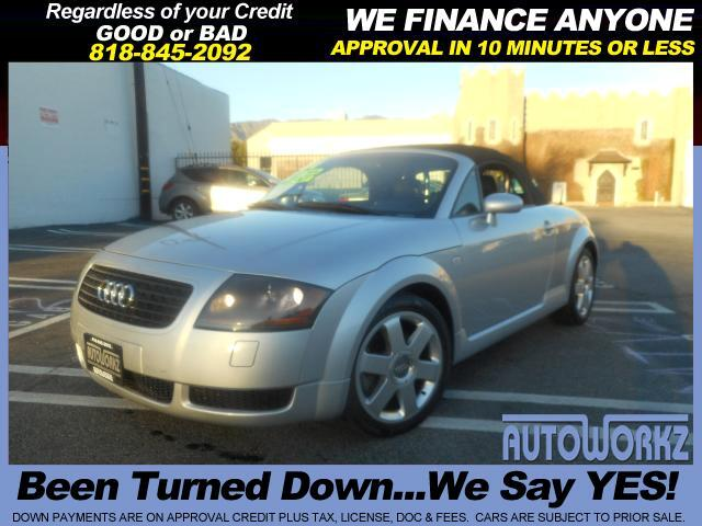 2001 Audi TT Join our Family of satisfied customers We are open 7 days a week trade in welcome apr