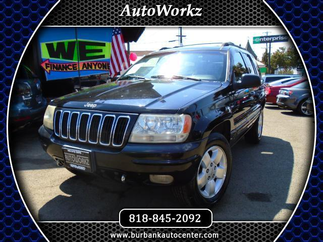 2001 Jeep Grand Cherokee SUPER CLEAN  BLACK ON BLACK DRIVES GOOD EASY FINANCING OPTIONS 4WD LEATHER
