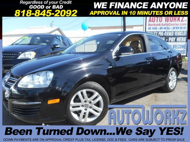 2007 Volkswagen Jetta WOW ONLY 86K MILES LEATHER GAS SAVER AUTO MOON ROOF WOLFSburg EDITION Join ou
