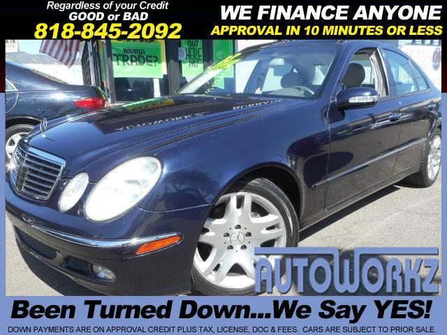 2003 Mercedes E-Class Join our Family of satisfied customers We are open 7 days a week trade in we