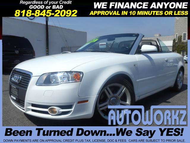 2007 Audi A4 Join our Family of satisfied customers We are open 7 days a week trade in welcome apr