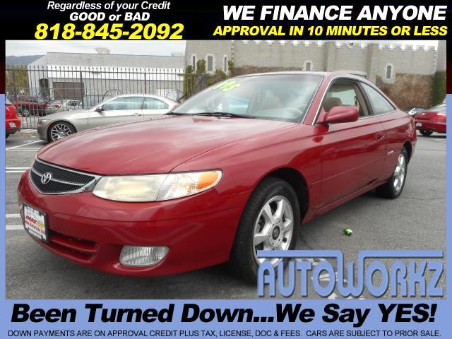 2000 Toyota Camry Solara Join our Family of satisfied customers We are open 7 days a week trade in