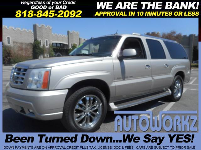 2005 Cadillac Escalade Join our Family of satisfied customers We are open 7 days a week trade in w