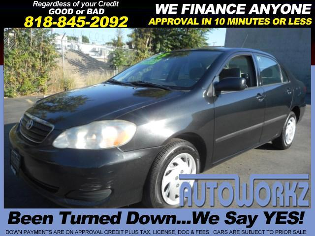 2005 Toyota Corolla Join our Family of satisfied customers We are open 7 days a week trade in welc