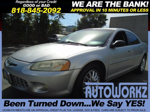 2001 Chrysler Sebring Join our Family of satisfied customers We are open 7 days a week trade in we