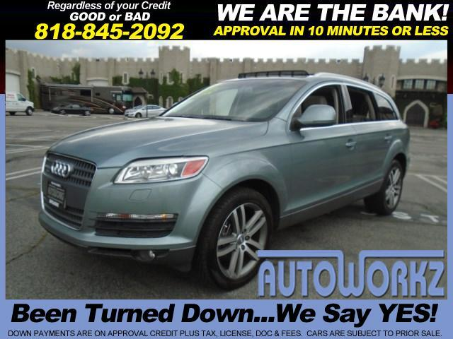 2007 Audi Q7 the Q7 42 Premium sure sounds SUV-like Quattro permanent all-wheel drive is standard