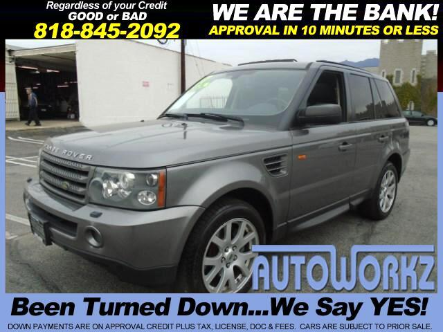 2007 Land Rover Range Rover Sport Join our Family of satisfied customers We are open 7 days a week