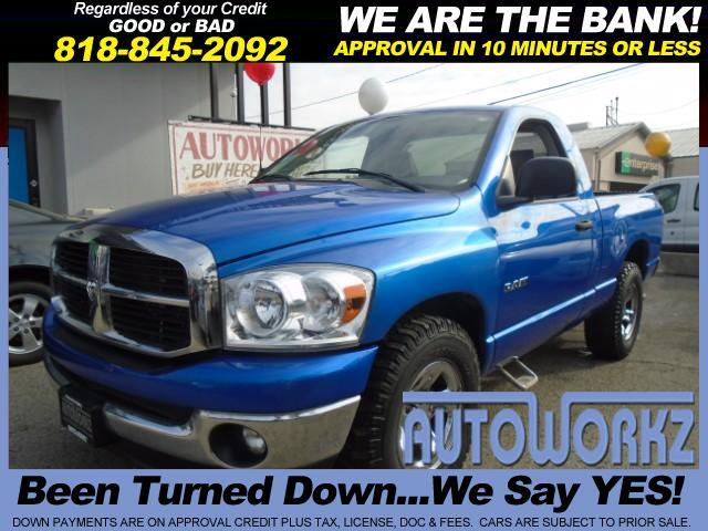 2008 Dodge Ram 1500 WOW SUPER CLEAN SINGLE CAB WITH A HEMI ENGINE HARD TO FIND AUTOMATIC AC POWER W