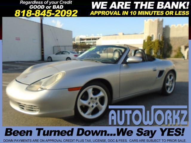 2001 Porsche Boxster Join our Family of satisfied customers We are open 7 days a week trade in wel