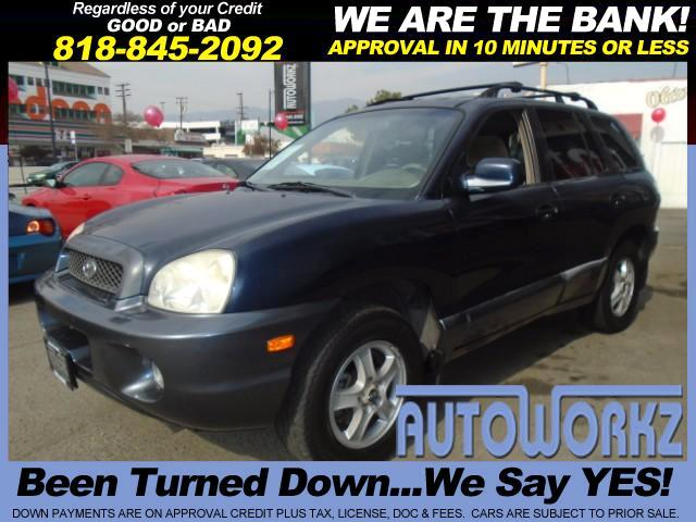 2004 Hyundai Santa Fe Join our Family of satisfied customers We are open 7 days a week trade in we