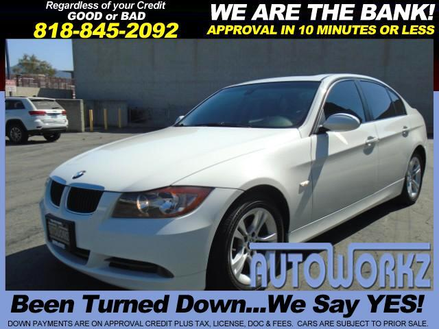 2008 BMW 3-Series WOW CHECK THIS ONE OUT WHITE WITH BLACK WE FINANCE AUTO LIKE NEW EXTRA CLEAN Join