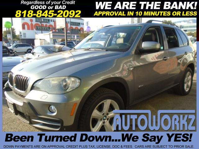 2007 BMW X5 WOW CHECK THIS ONE OUT  GREY WITH BLACK LEATHER INTERIOR TINTED WINDOWS LIKE NEW WE FI