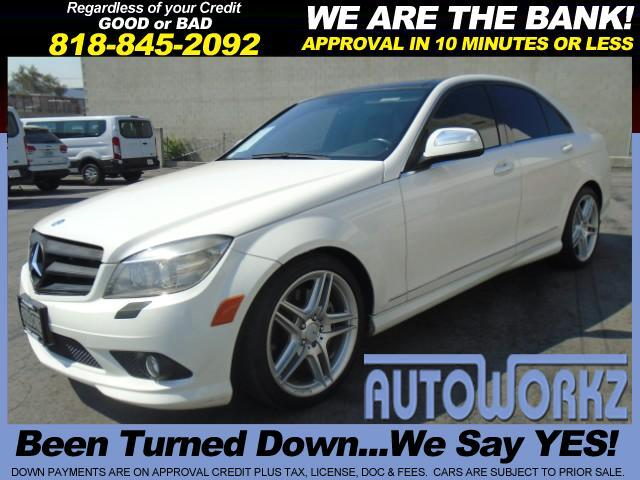 2008 Mercedes C-Class This 2008 Mercedes C350 has heated seats a leather interior and a Panorama Ro