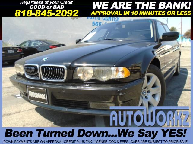 2001 BMW 7-Series WOW CHECK THIS BMW 750 OUT BLACK ON BLACK PRICE RIGHT TO SALE ONE OWNER LIKE NEW