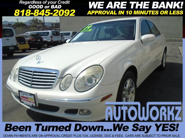 2004 Mercedes E-Class WOW CHECK THIS ONE OUT ONLY 6995 PRICE RIGHT TO SALE EXTRA CLEAN LIKE NEW RUN