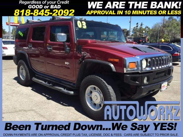 2003 HUMMER H2 Join our Family of satisfied customers We are open 7 days a week trade in welcome R