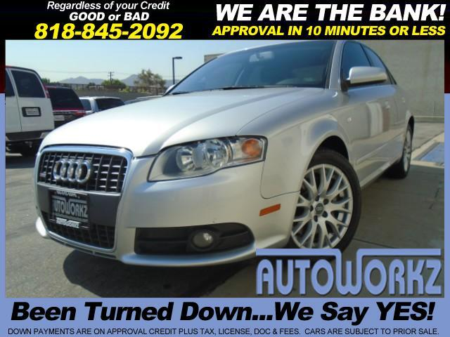 2008 Audi A4 WOW CHECK THIS ONE OUT SILVER WITH BLACK LEATHER ALL WHEEL DRIVE LIKE NEW EXTRA CLEAN