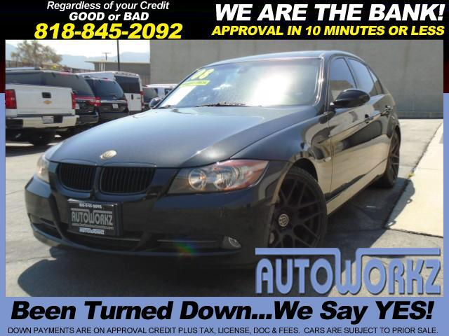 2008 BMW 3-Series WOW BLACK ON BLACK AFTER MARKET WHEELS AND TIRES EXTRA CLEAN LIKE NEW GREAT CAR W