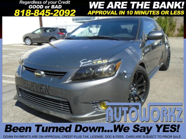 2011 Scion tC CHARCOAL 2011 SCION TC AUTOMATIC POWER WINDOWS POWER DOOR LOCKS CRUISE CONTROL ALLOY