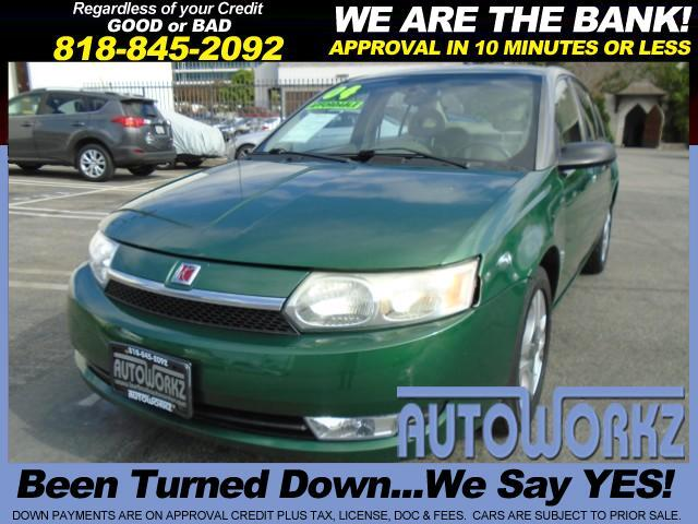 2004 Saturn ION GREEN 2004 SATURN ION AWESOME CONDITION WELL TAKEN CARE OF GAS SAVER PRICED RI