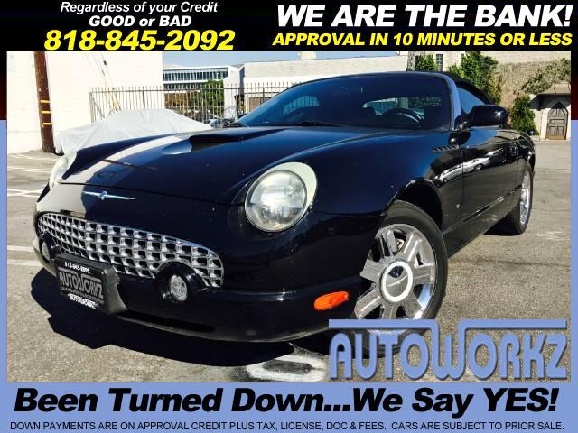 2004 Ford Thunderbird Join our Family of satisfied customers We are open 7 days a week trade in we