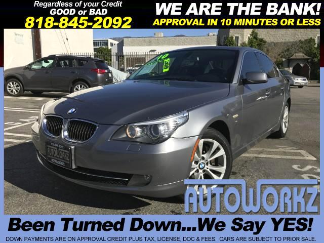 2010 BMW 5-Series 2010 BMW 535i xDrive AWD 4dr SedanCLEAN CAR-FAXNO ACCIDENTNAVIGATION SYSTEMHEA