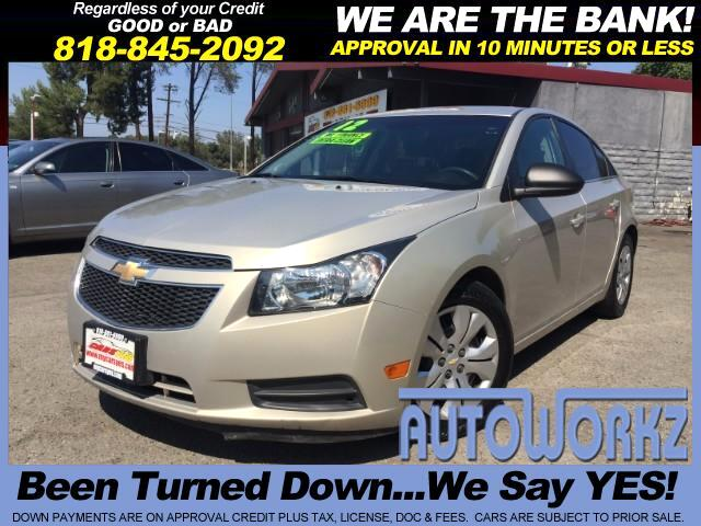 2012 Chevrolet Cruze Join our Family of satisfied customers We are open 7 days a week trade in wel