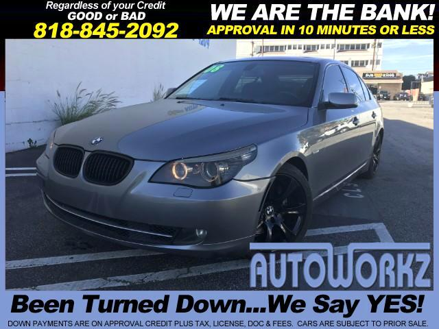 2008 BMW 5-Series Join our Family of satisfied customers We are open 7 days a week trade in welcom