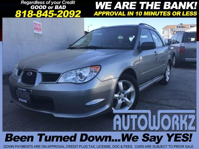 2007 Subaru Impreza Wagon Join our Family of satisfied customers We are open 7 days a week trade i