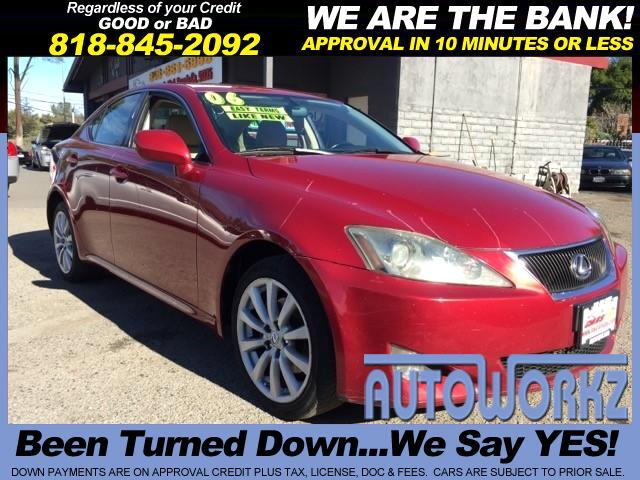 2006 Lexus IS Join our Family of satisfied customers We are open 7 days a week trade in welcome Ra
