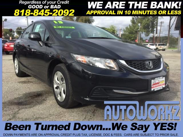 2013 Honda Civic Join our Family of satisfied customers We are open 7 days a week trade in welcome