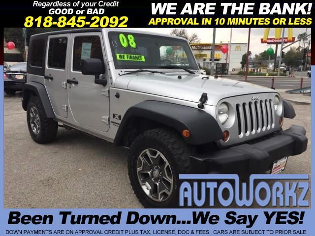 2008 Jeep Wrangler Join our Family of satisfied customers We are open 7 days a week trade in welco
