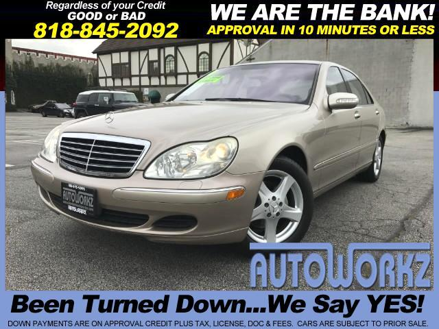 2004 Mercedes S-Class WOW CHECK -OUT THE LOW MILES S430 WITH ONE OWNER WE HAVE LIKE NEW 85K MILES