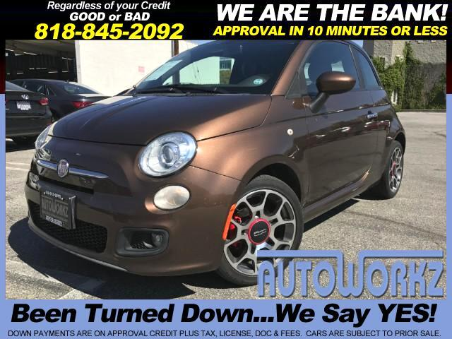 2012 Fiat 500 WOW CHECK THIS ONE OUT AUTO SUN ROOF MUST SEE Join our Family of satisfied customers