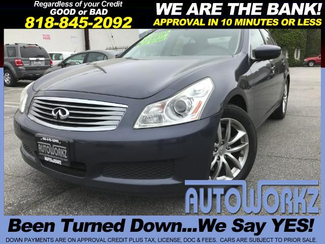 2009 Infiniti G Sedan WOWC CHECK THIS ONE OUT LEATHER - LOW MILES EXTRA CLEAN MUST SEE  -GREAT