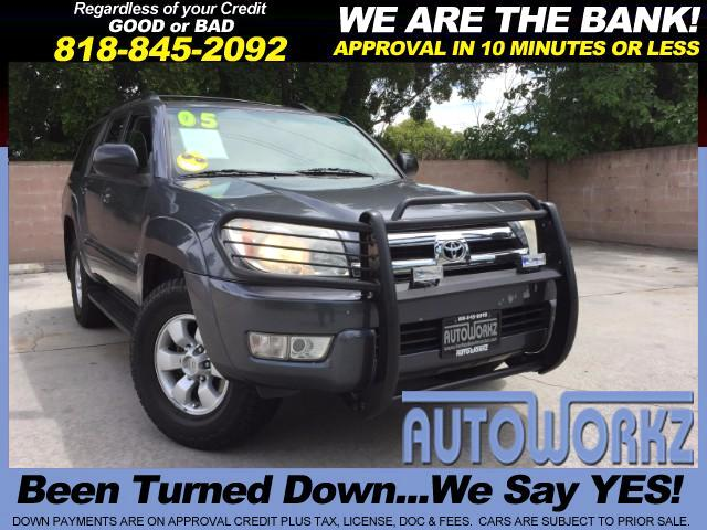 2005 Toyota 4Runner WOW CHECK THIS ONE OUT GRILL GUARD EXTRA CLEAN MUST SEE WE FINANCE Join our Fam