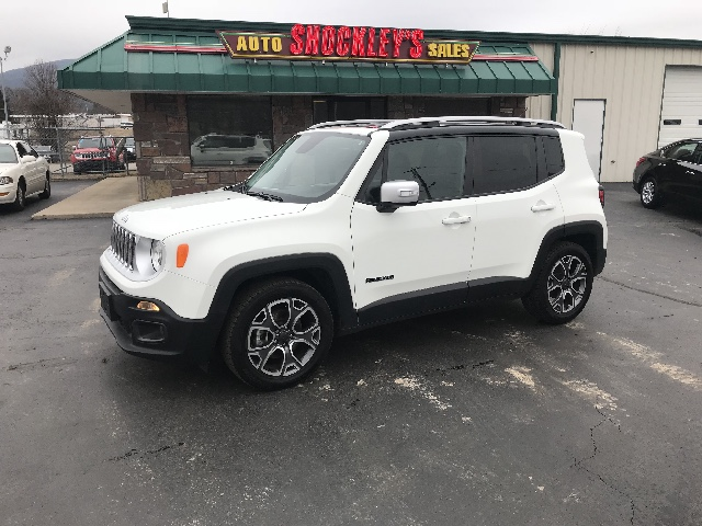2017 Jeep Renegade Limited FWD