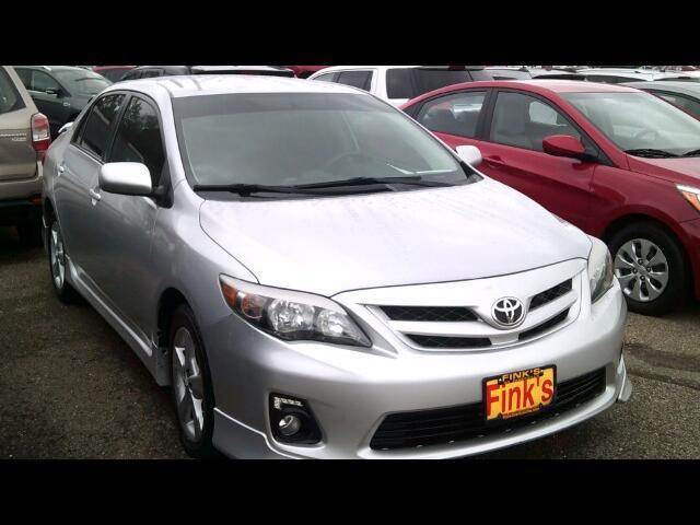 2012 Toyota Corolla S 4-Speed AT