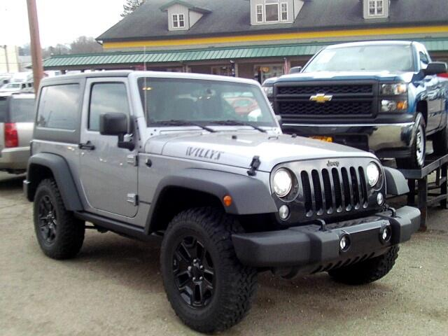 2017 Jeep Wrangler Willys Edition Hardtop 4WD