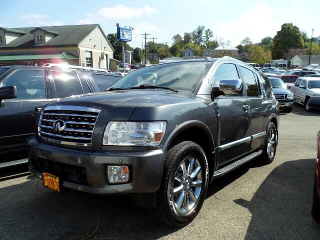 used 2010 infiniti qx56 awd for sale in zanesville oh 43701 finks quality used cars. Black Bedroom Furniture Sets. Home Design Ideas