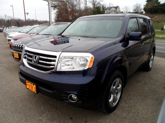 Used 2014 honda pilot ex l 4wd 5 spd at for sale in for 2014 honda pilot gas mileage