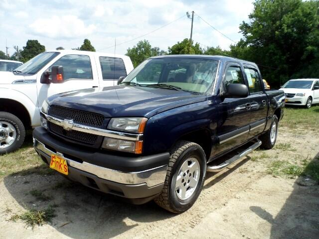 used 2005 chevrolet silverado 1500 lt crew cab 4wd for sale in zanesville oh 43701 finks quality. Black Bedroom Furniture Sets. Home Design Ideas