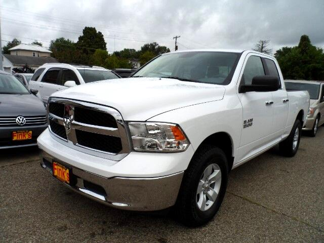 Finks Used Cars >> Used 2016 RAM 1500 SLT Quad Cab 4WD for Sale in Zanesville ...