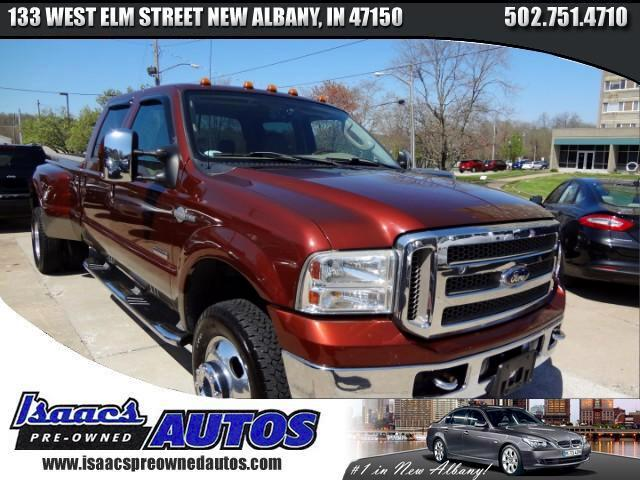 2006 Ford F-350 SD King Ranch Crew Cab Long Bed DRW 4WD