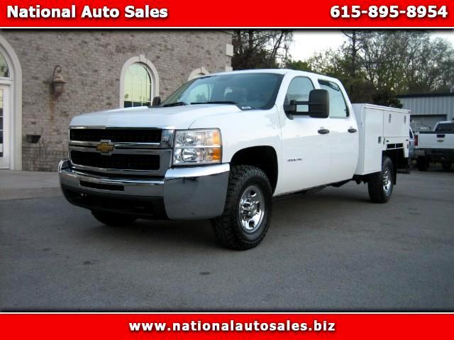 2010 Chevrolet Silverado 3500HD Work Truck Crew Cab 4WD Utility