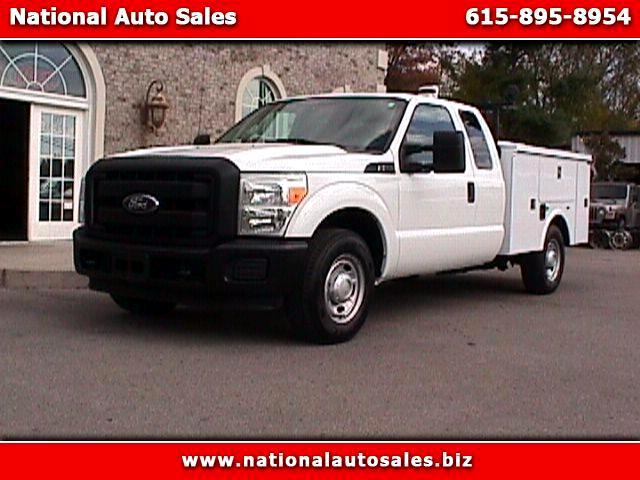2011 Ford F-250 SD XL SuperCab Long Bed 2WD UTILITY
