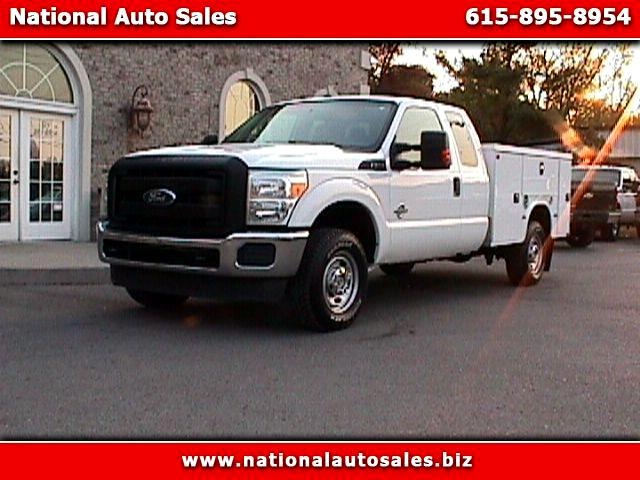 2011 Ford F-250 SD XL SuperCab Long Bed 4WD UTILITY