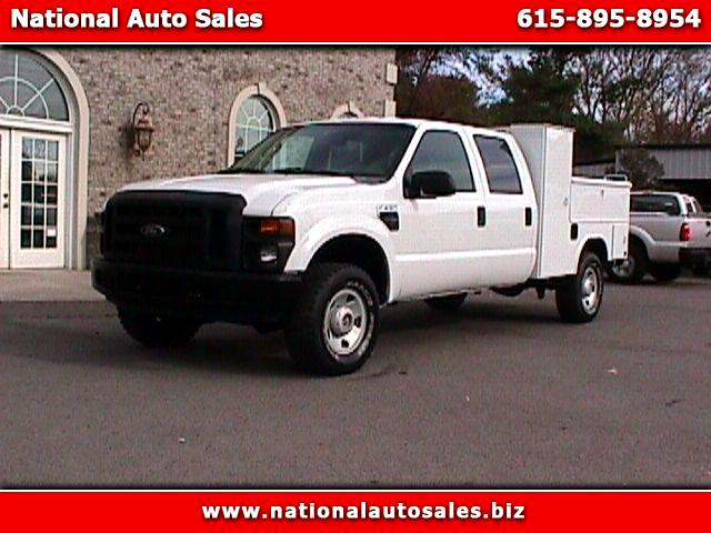 2008 Ford F-250 SD XL Crew Cab Long Bed 4WD UTILITY